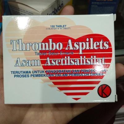 Thrombo Aspilets  obat penurun demam dan pereda nyeri