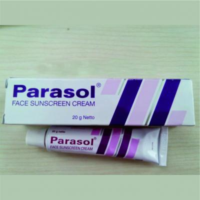 Parasol sunscreen ungu, PARASOL FACE SUNSCREEN CREAM