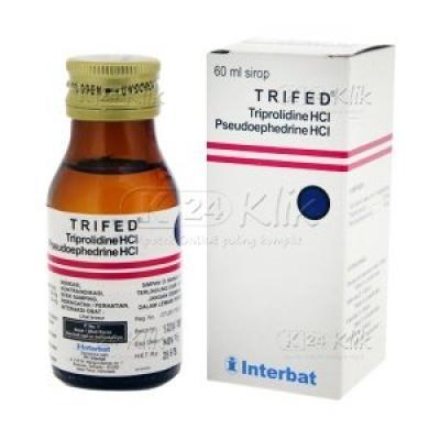 Trifed  melegakan saluran pernapasan dan mengurangi reaksi peradangan akibat alergi