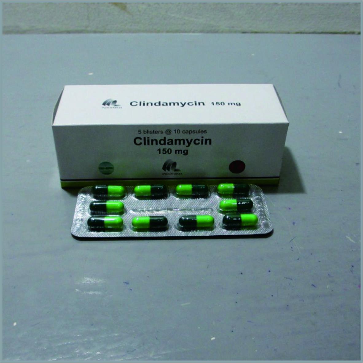Clindramycin 150 mg Mengobati infeksi yang disebabkan oleh bakteri